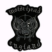 Motorhead England. Patch Thermocollant 11 Cm X 8 Cm