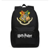 Honhuiqixin Harry Potter Sac � Dos Cartable �paule �cole Voyage Travail Sport Ipad Laptop Backpack Rucksack Toile Noir
