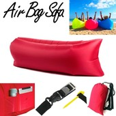 Air Bag Sofa Laybag Canap� Gonflable Rouge