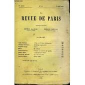 Revue De Paris 27e Annee N�15 - Louis Barthou. . . Georges Delahache. Fernand Gregh., Herc�. .Andr� Beaunier. Andr� Gilles. . Jacques-�. Blanche. Jacques Ancel. . .Autour De William ...