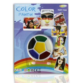 Palette Maquillage Supporter Football - Italie France Allemagne ....