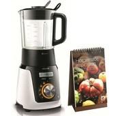 PHILIPS HR209830 Blender chauffant 1100w 1.5l 4 fonctions + livre recette