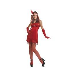 D�guisement Femme L Fille Des Ann�es 20 Rouge