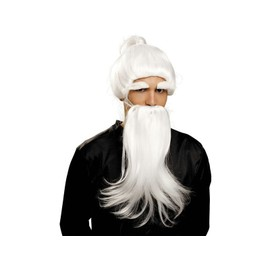 Perruque Et Barbe De Fu Man Chu