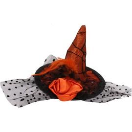 Chapeau Sorci�re Orange 14.5