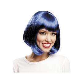 Perruque Courte Bleu