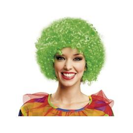 Perruque Fris�e Verte