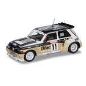 Renault 5 Maxi Turbo 1986 Echelle 1/18 Solido Ford Voiture Miniature 230