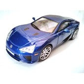 Lexus Lfa 1/43 Voiture Miniature De Collection Sport Cars Ixo