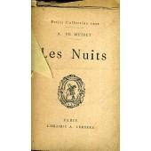 Les Nuits - Petite Collection Rose de alfred de musset