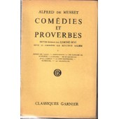 Com�dies Et Proverbes de alfred de musset