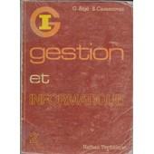 Gestion Et Informatique de G. Atg�