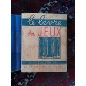 Le Livre Des Jeux de Les eclaireurs de France
