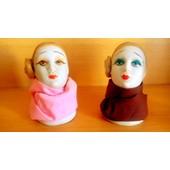 Figurine T�te De Femme