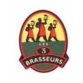 Sous Bock : Les 3 Brasseurs