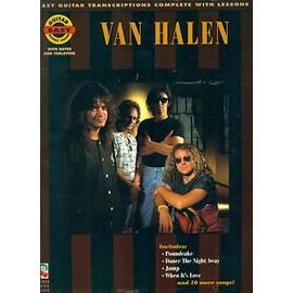 VAN HALEN Easy Guitar Transcriptions