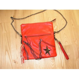 Sac � Main Thierry Mugler Synth�tique Rouge