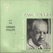 Po�tes D'aujourd'hui Paul Eluard : Pour Vivre Ici, L'amoureuse, Nuits Partag�es, Dimanche Apr�s-Midi, Libert�, Couvre-Feu, Je Ne Suis Pas Seul .... (17cm) - G�rard Philipe