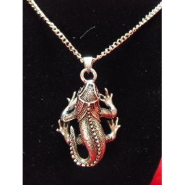 Pendentif L�zard Gecko +Chaine