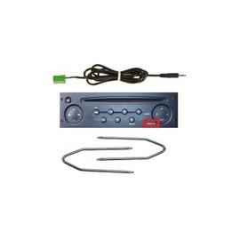 Cable jack aux mp3 autoradio renault udapte list 6pin + 2 cles kanoo clio - skyexpert