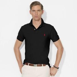 Polo Ralph Lauren Custom Fit Coton S Noir