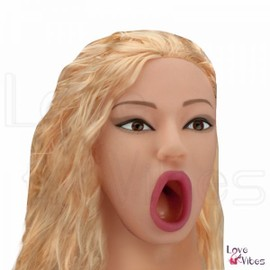 Poup�e Suceuse Vibrante Blonde