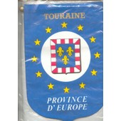 Fanion, : Province D'europe : Touraine