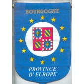 Fanion, : Province D'europe : Bourgogne