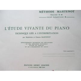 Eude vivante du piano - Volume II B - Degré élémentaire B