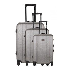 Travel One Set De 3 Valises - Cuenca - Taille S+M+L - Syst�me 360 + Roues Silencieuses - Ultra Light - Grande Contenance