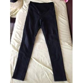 Pantalon Kiabi Skinny Fit Elasthanne 38 Noir