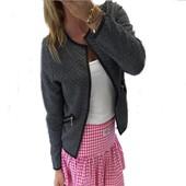 Mode Blazer Femme Manche Longue Veste Cardigan