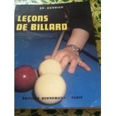 Lecons De Billard de ED Derbier