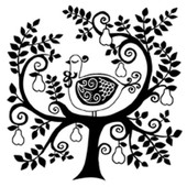 Tampon En Bois - L'arbre � Perdrix - Art�mio