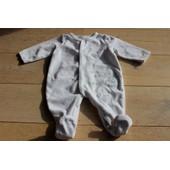 Pyjama Cuiccui 3 Mois Blanc