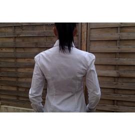 Chemise Zara Manches Longues Coton S Blanc