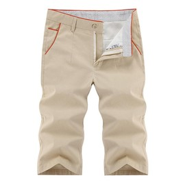 Pantacourt Hommes Casual Pantalon Court Style Droit Mode V�tement D'�t�