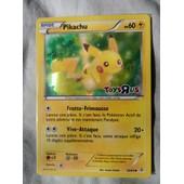 Carte Pok�mon Pikachu - �dition 20 Ans Toys'r'us Qu�bec