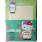 Papier A Lettre Et Enveloppes Hello Kitty Sanrio