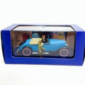 Voiture Miniature Tintin- La Decapotable Du Lotus Bleu