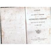 Code Des Lois, D�crets Et Ordonnances Sur Les Contributions Indirectes, Les Tabacs Et Les Octrois... De 1790-1874] de impr dupont