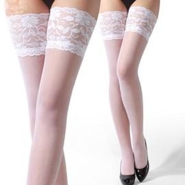 Ebuy� Bas Femme Sexy Lace Dentelle Stocking Jarretelles Autofixants