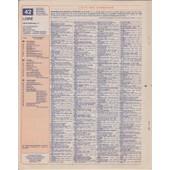 Almanach Des Ptt 1987 Loire