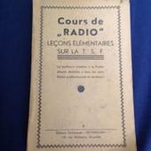 Cours De Radio Le�ons �l�mentaires Sur La Tsf de technicum