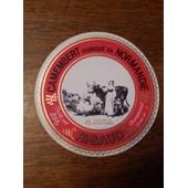 Etiquette De Fromage Camembert De Normandie Rigaud Champsecret Orne