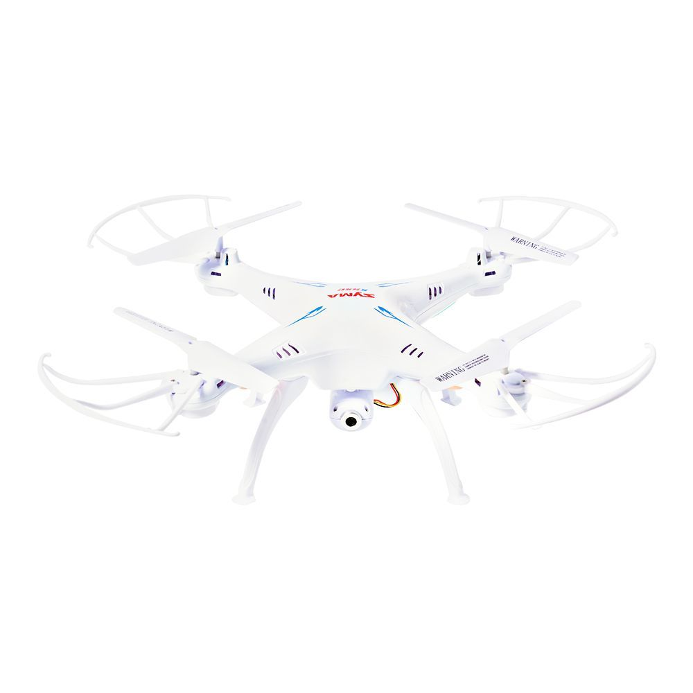 Syma X5sw Fpv 2.4ghz 4ch Rc Quadcopter Drone 0.3mp Hd Camera + 2 Batteries Rc233