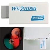GETEK� wii a hdmi wii2hdmi Full HD 1080p convertidor adaptador audio jack 3,5 mm hdtv