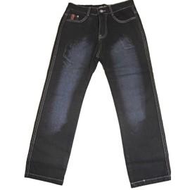 Pantalon Jeans 5 Poches Gar�on Taille �lastiqu� Ou �lastique Interieur !! 38%Polyester 27%Viscose 26%Coton 9%Autre Fibres !! Expedition En 24/48hrs