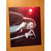 Autographe Sur Photo De David Essex