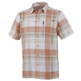Columbia Silver Ridge Plaid Short Sleeve Shirt Chemisette
